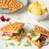 Ресторан Max Brenner - фотография 6 - Сэндвич с куриной грудкой-гриль, авокадо и рукколой