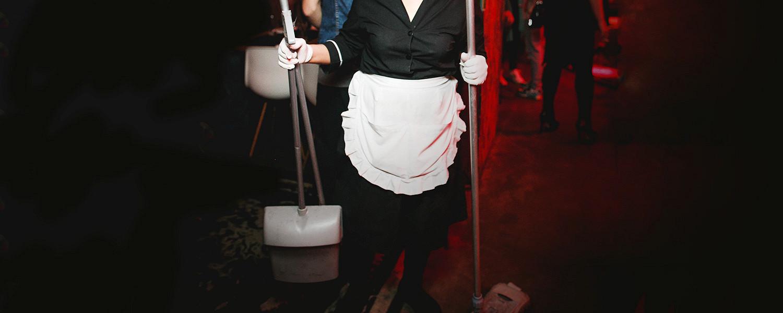 Уборщица в ночной клуб вакансии москва сохо москва клуб цены официальный сайт
