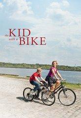 Постер Мальчик с велосипедом