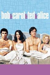 Постер Боб и Кэрол, Тед и Элис