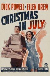 Постер Рождество в июле