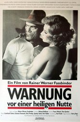 Постер Предостережение святой блудницы