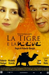 Постер Тигр и снег