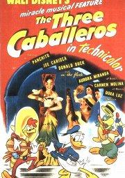 Постер Три кабальеро