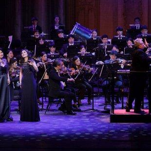 Симфонический оркестр и солисты НОВАТа