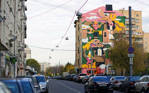 Стены, туннели и обочины, закрашенные уличными художниками