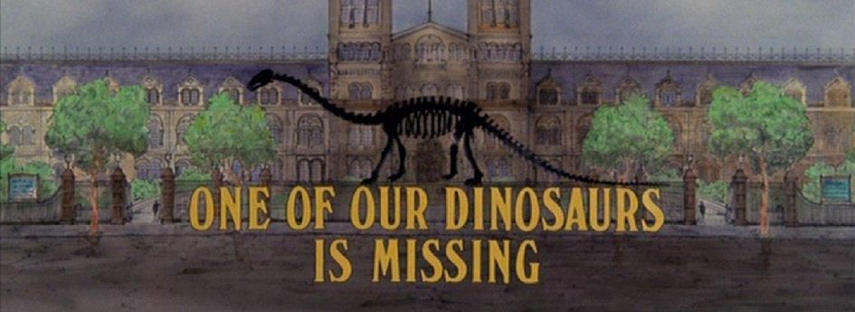 Кино: «Пропавший динозавр»
