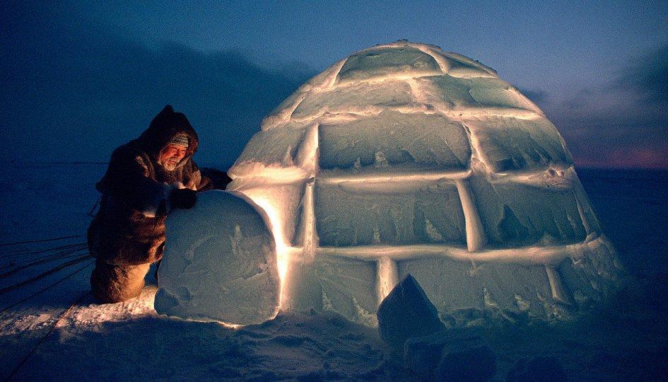 Выставки: Арктика: круги жизни. Крайний Север Брайана Александера