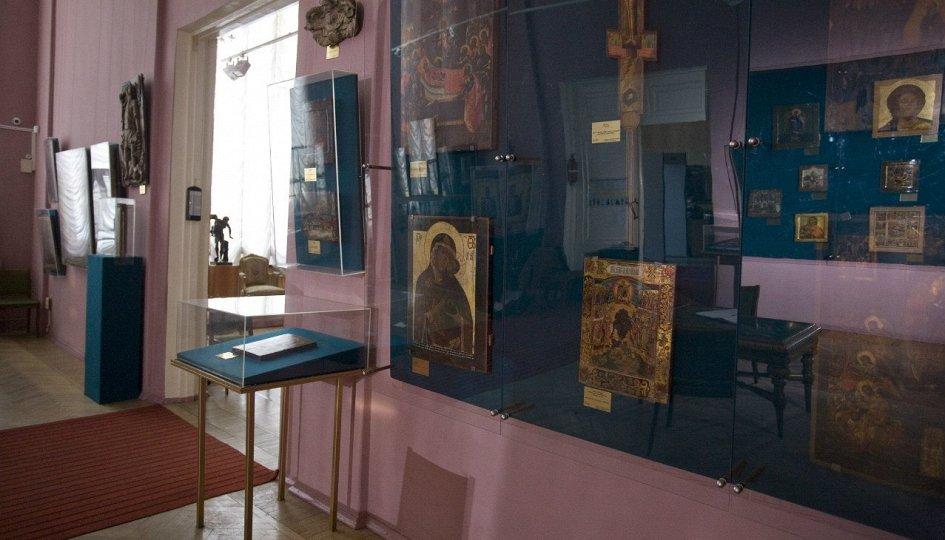 Выставки: Экспозиция древнерусского искусства