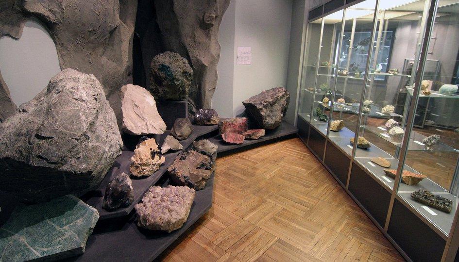 Выставки: Полезные ископаемые Свердловской области