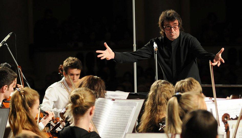 Концерты: Юрий Башмет и Юношеский симфонический оркестр