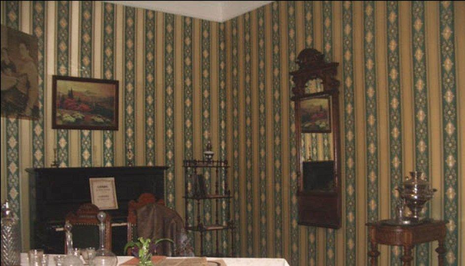 Выставки: Зеленая гостиная в доме управляющего