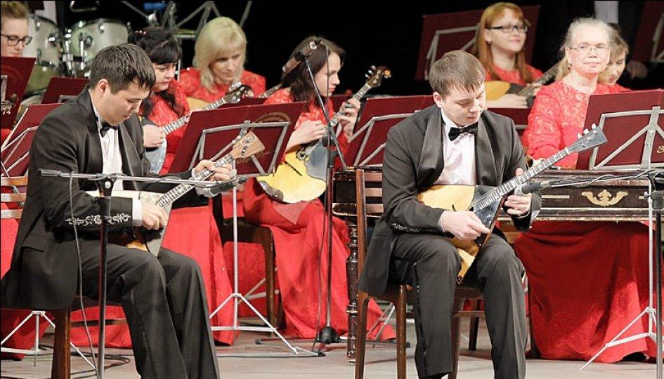 Концерты: «Кушать подано»: Уральский государственный русский оркестр