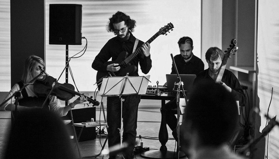 Концерты: «µ Intro»: Glushkov, Miroliubov, Ihor Tsymbrovsky, Kymatic, PHEW, Zoviet France, Robin Fox