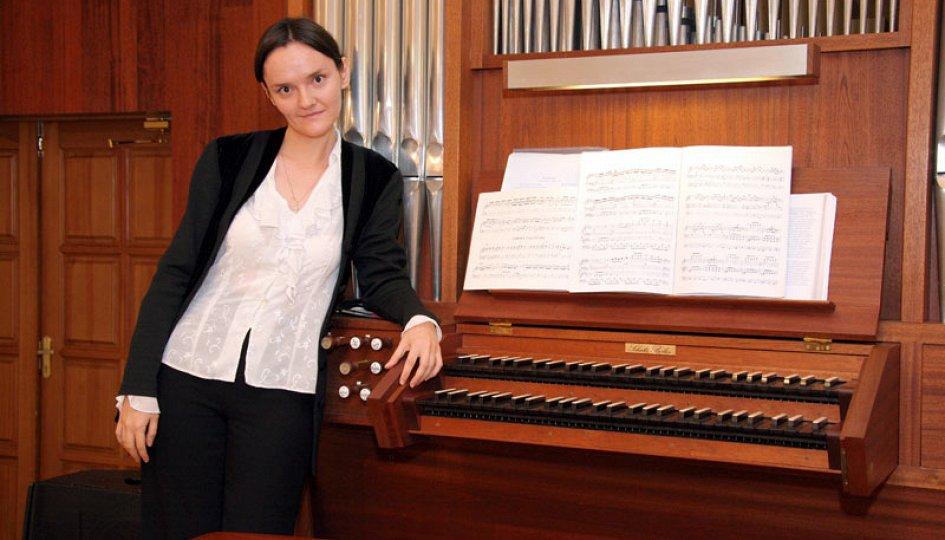 Концерты: «Органные мореплаватели»: Мария Блажевич