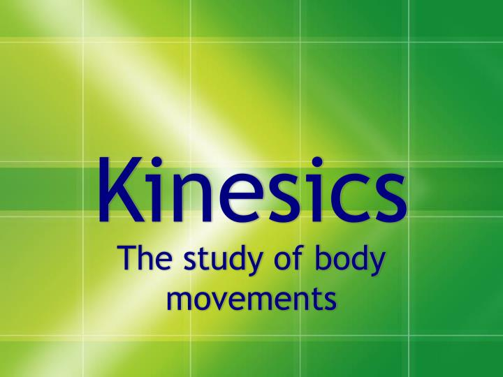 Project MUSE - Kinesics and Context