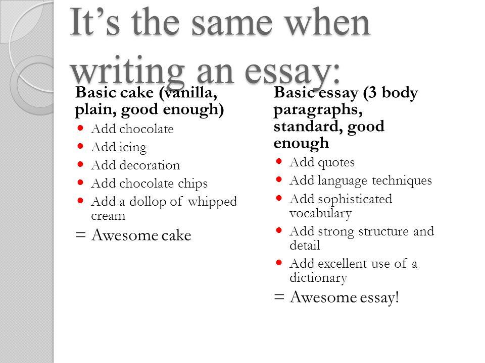 Write my good vocab for essays
