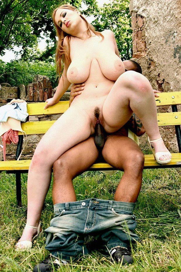 Outdoor naked in public