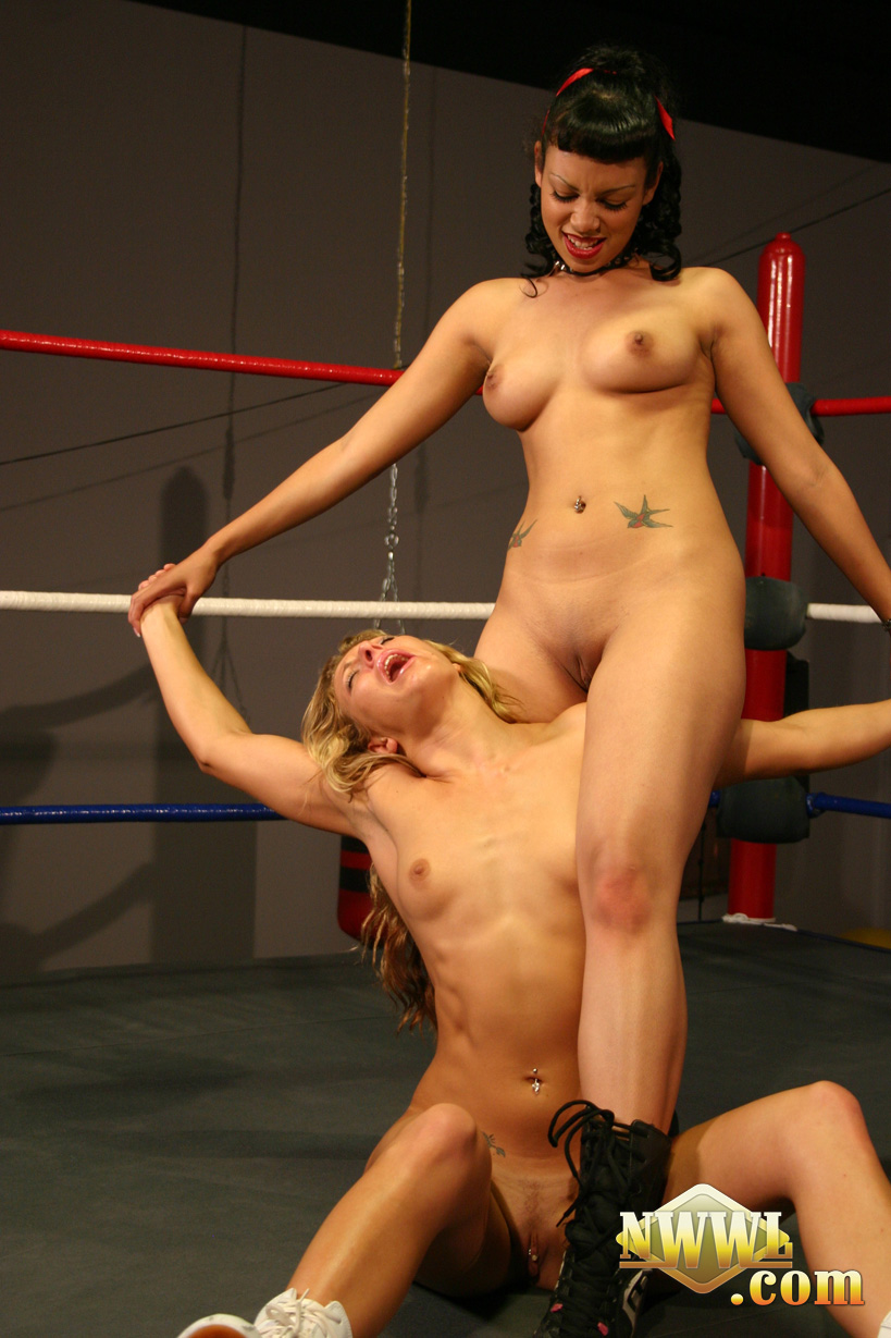 Nude womens wrestling league