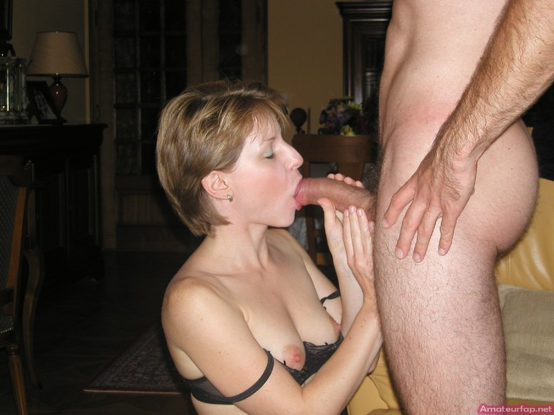 Mature Wife Blowing Husband - College-4865