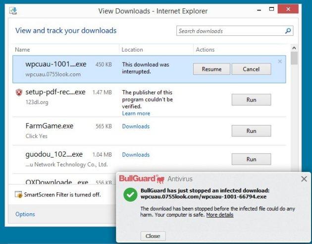 Why does Internet Explorer block a pdf file - Microsoft