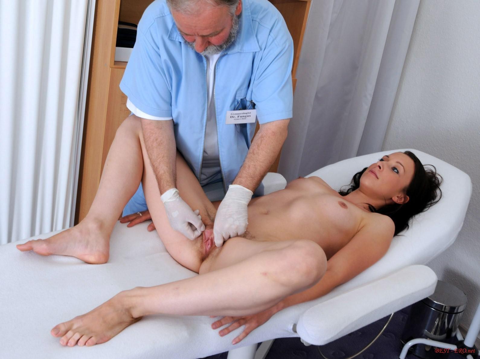 Порно у доктора массажа зажимы яйцах