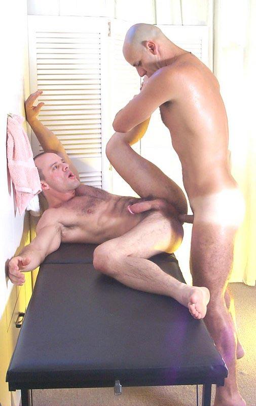 Handjob + under + table