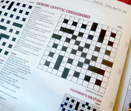 Dating service questionnaire heading crossword