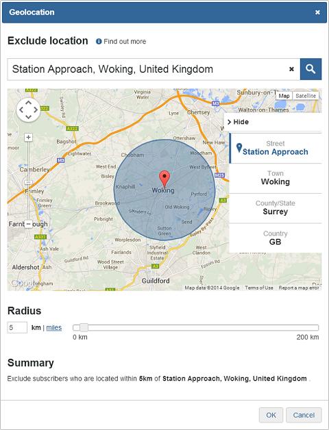 Google Chrome Manual Geolocation