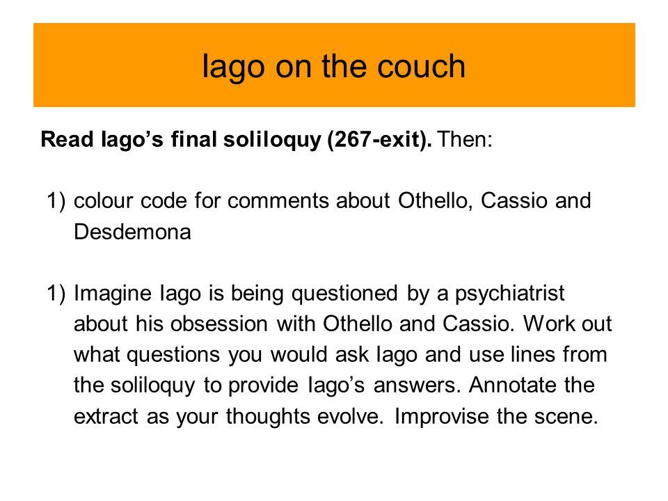 Othello essay topics