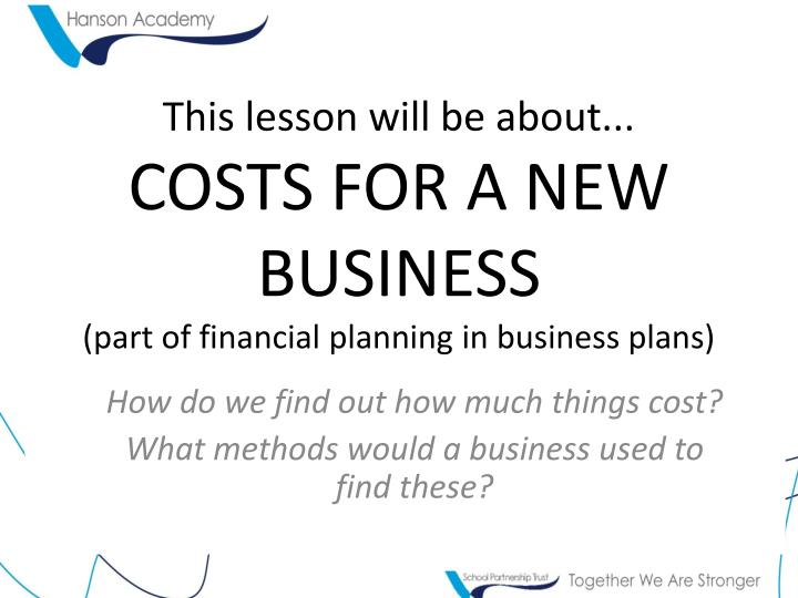 How to write a business plan - NAB