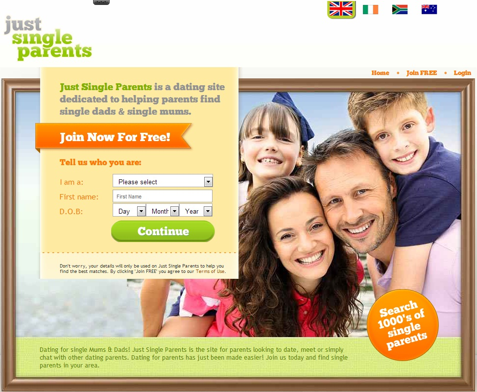 Dating service for single parents
