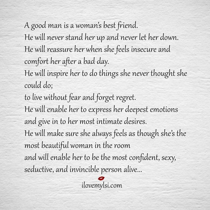 Dating a good man quotes