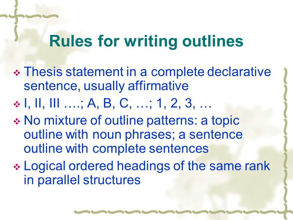 Writing a Thesis Statement - Time4Writing