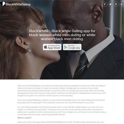 Black white dating site