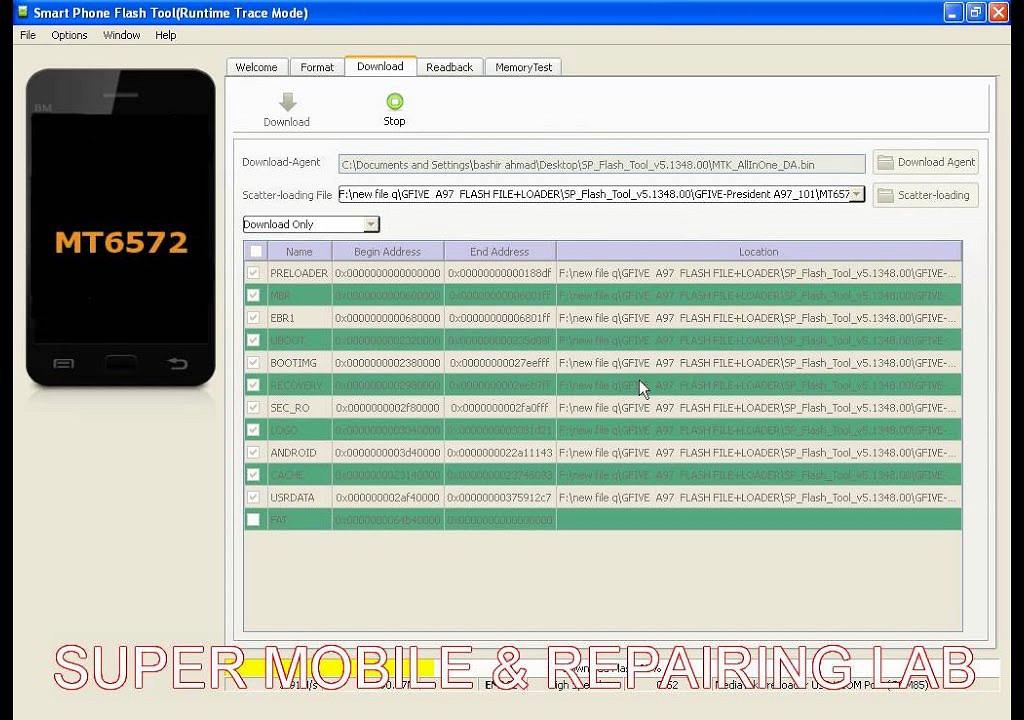 QMobile Noir X6 Stock Rom Android KK 44 Firmware Flash File