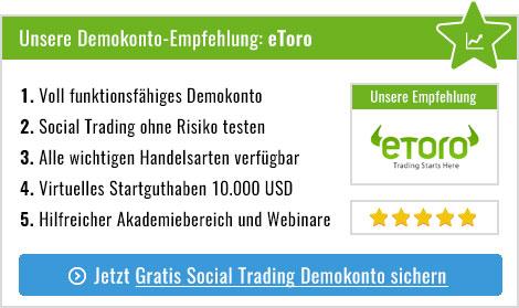 social trading demokonto