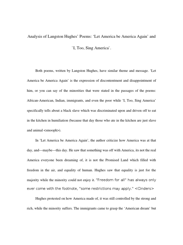 Healthy Food Essay Thesis Statement On Salvation Langston Hughes Example Of Essay Proposal also Thesis Statement In An Essay Thesis Statement On Langston Hughes Compare Contrast Essay Papers