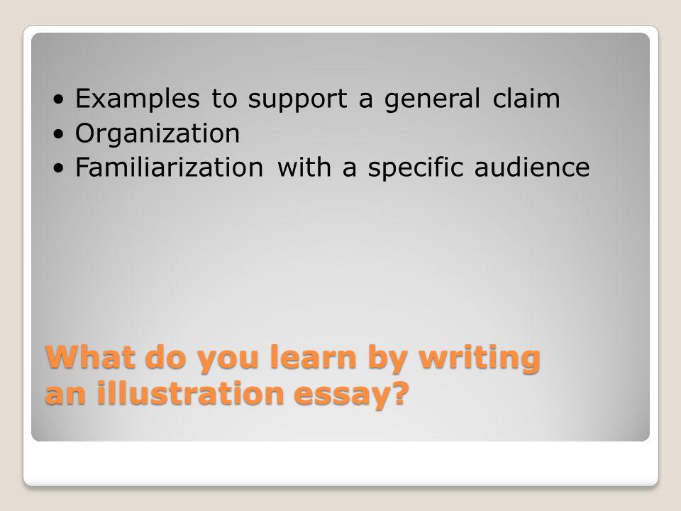 Illustration Essay Topics - Studycom