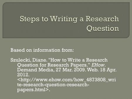 Write my search engine research paper