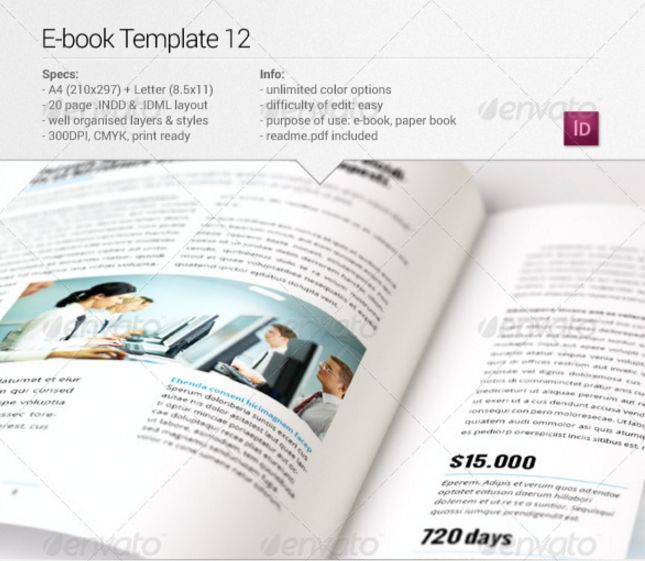 Best eBook Templates InDesign ePub Format To