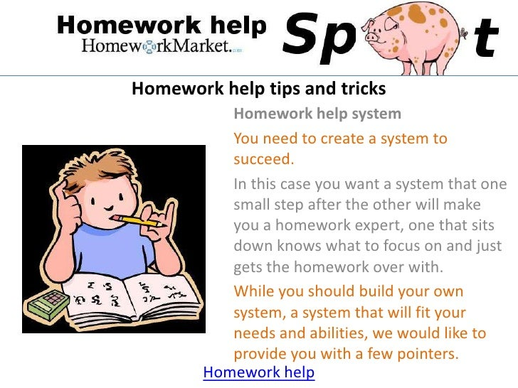 You help me with my homework