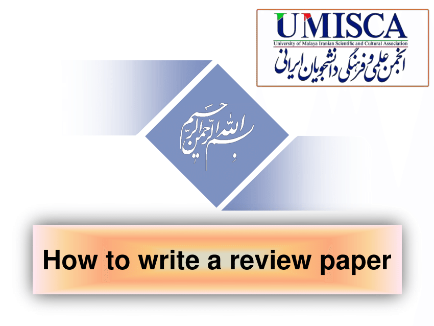 How to write review