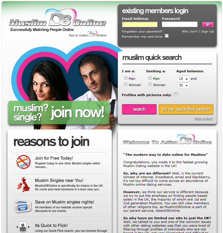Muslim dating sites usa