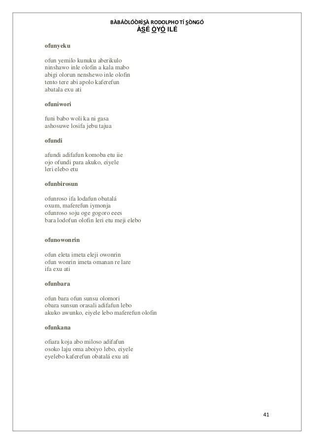 Odu ifa pdf