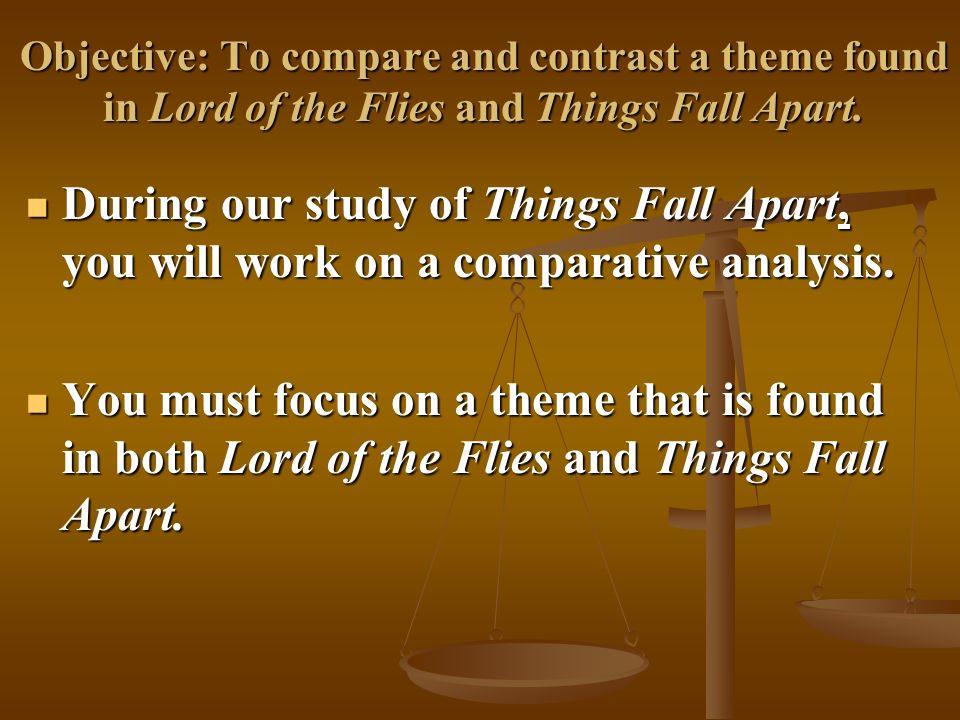 Write my things fall apart thesis