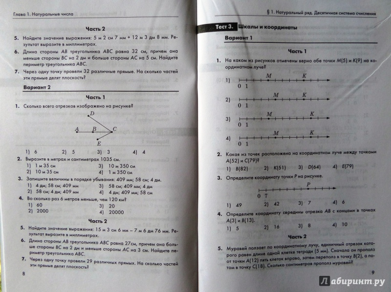 Гдз по математике 6 класс ким ответы попова ответы