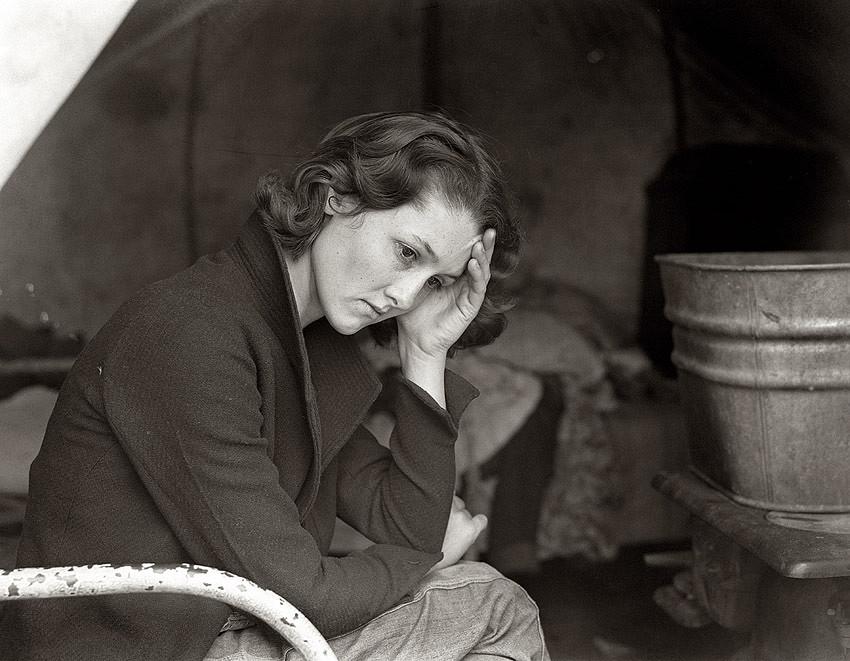 Влияние Великой депрессии на хозяйство