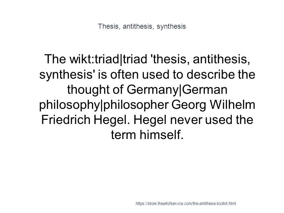 Define Antithesis Literary Term - Docmia
