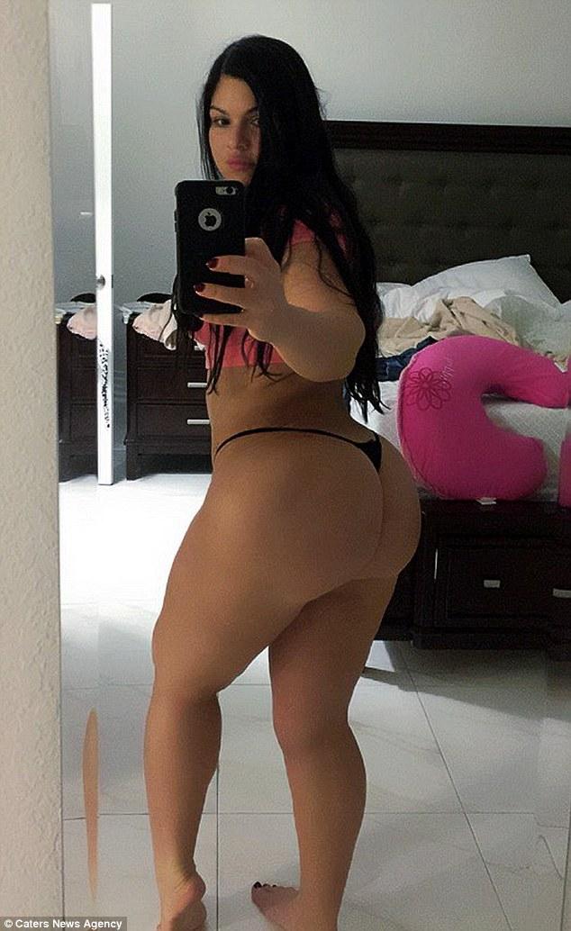 Bubble butt latinas share cock